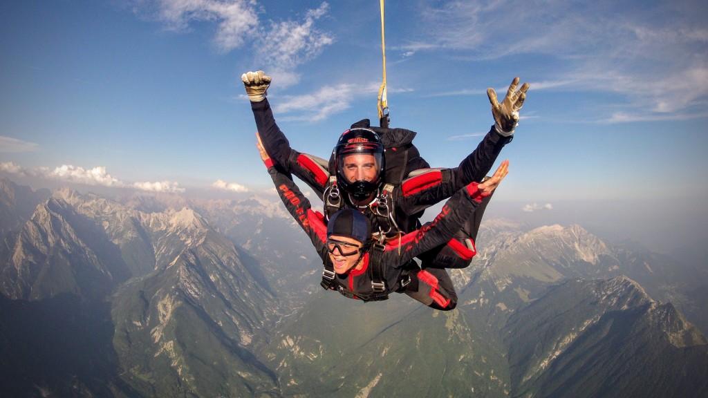 skydiving bovec