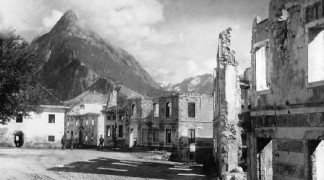 Isonzo Front in Soča Valley