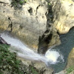 sliding down the biggest waterfall in sušec canyon