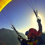 tandem paragliding in the soča valley slovenia