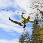 the speeds of zip line; photo by: www.ziplineslovenia.si