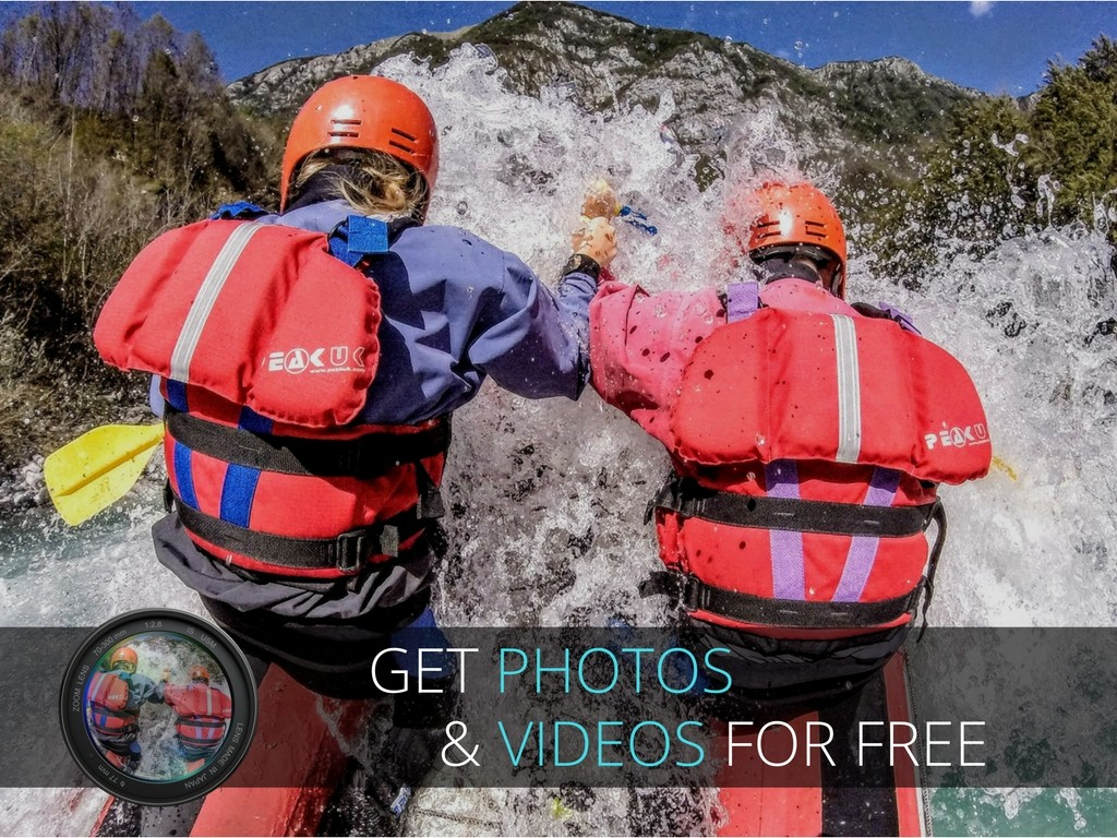 canoeing photos and videos gratis banner