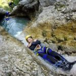 family adventure sušec canyoning