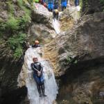 company teambuilding sušec canyoning in soča valley