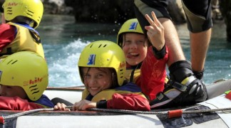 Can Children Go Rafting with Us?