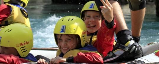 Ali gredo lahko na rafting tudi otroci?
