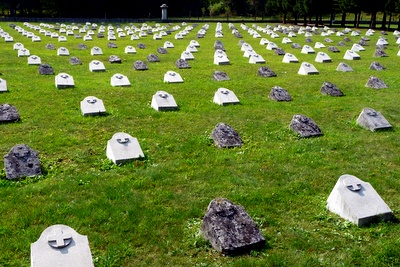 bovec first world war military cemetary slovenia