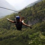 zip line adventure holidays in slovenia; photo by: www.ziplineslovenia.si