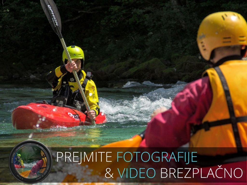 kajak tečaji na reki soči fotografije in video brezplačno