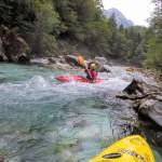 triglav national park kayak rapids paddling