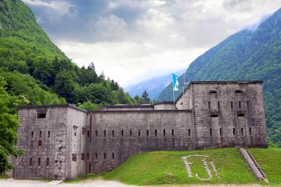 kluže fortress in bovec slovenia