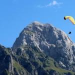 tandem paragliding in triglav national park slovenia; photo by: Tatjana Wojčicki
