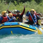 teambuilding rafting in the soča valley slovenia