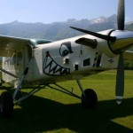 skydiving plane monster in bovec airfield; photo by: www.aviofun.com
