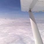panoramic flights over the julian alps on a clowdy day; photo by: www.aviofun.com