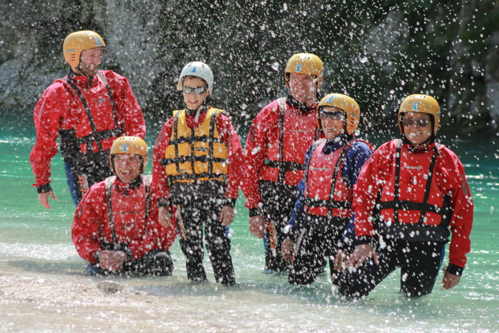 three day rafting canyoning picnic package banner
