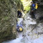 company teambuilding canyoning in sušec slovenia