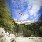 zip line in slovenian julian alps; photo by: www.ziplineslovenia.si