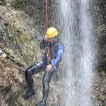 canyoning in fratarca canyon slovenia
