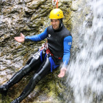 the funny part of fratarca canyoning