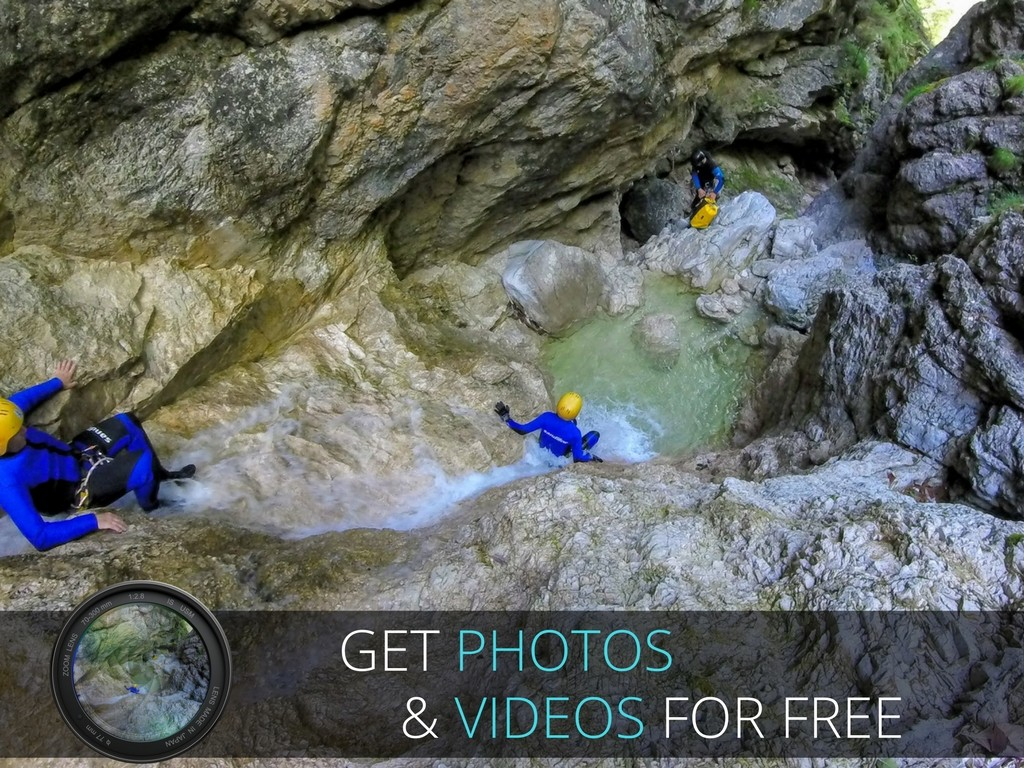 canyoning fratarca photos and videos gratis