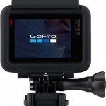 gopro hero5 black edition camera from backside