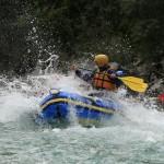 wild splash on the soča river rafting tour