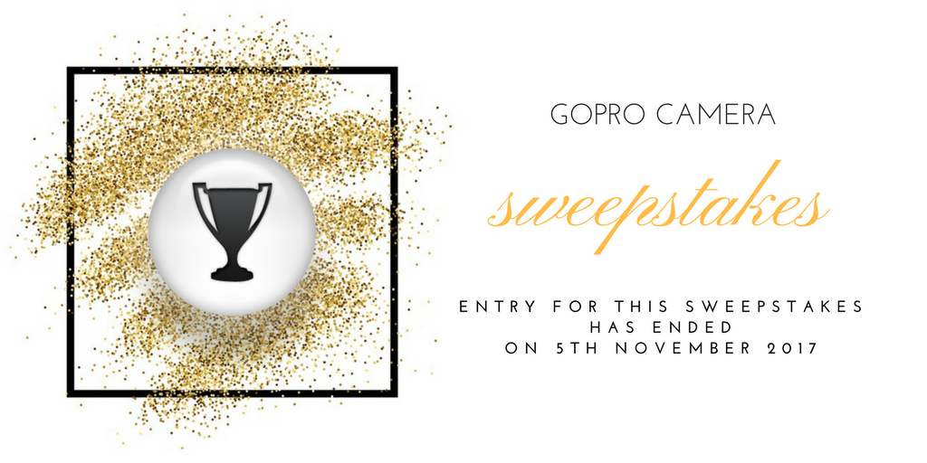 gopro camera sweepstakes has ended banner