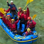 stag party rafting in slovenia
