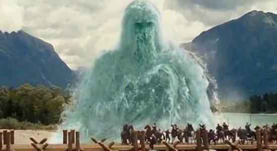 river god from narnia princ caspian on movie location in bovec slovenia