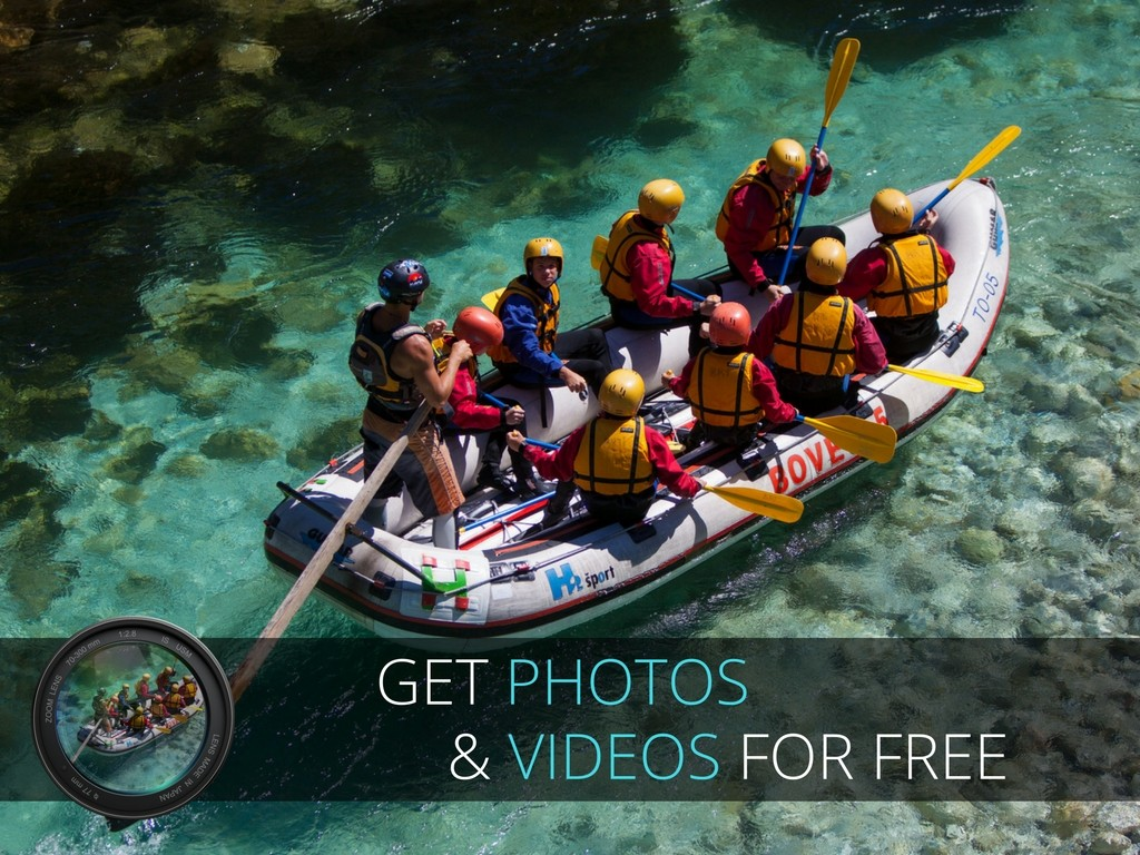 water activities photos and videos gratis banner