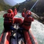 soča river family canoe tour in slovenia