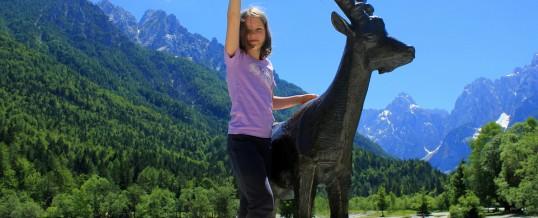 Vršič, Statue of Zlatorog