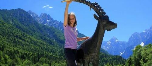 Vršič, Kip Zlatoroga