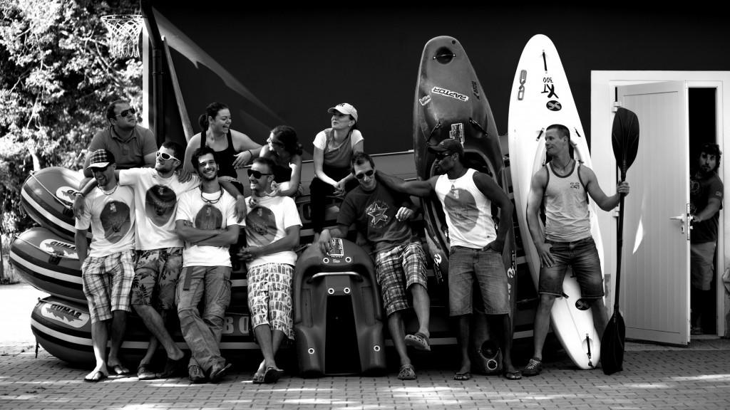 bovec rafting team crew