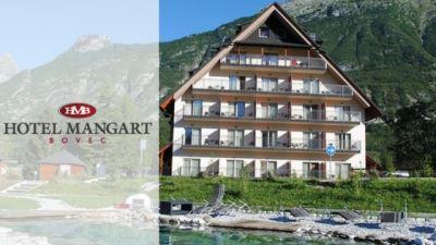 hotel mangart bovec banner with logo