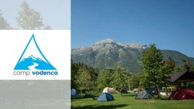kamp vodenca bovec banner with logo