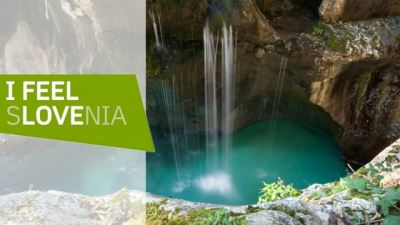 slovenia info banner with logo