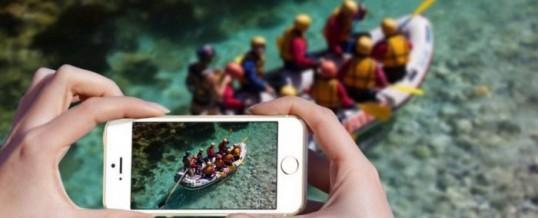 Ali lahko na rafting vzamem fotoaparat?