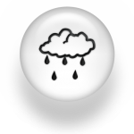 rain icon on pearl