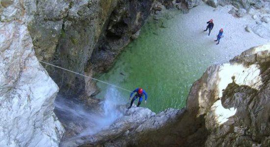 canyoning-fratarca-rain-triglav-national-park